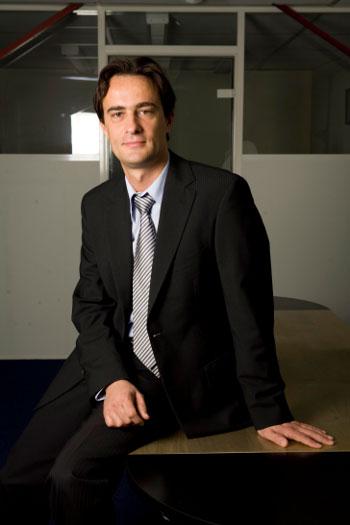 Cédric Loison directeur de l'agence de traduction A.D.T. Paris