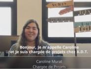 Caroline MURAT, chargée de projets
