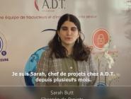 Sarah Butt, chargée de projets