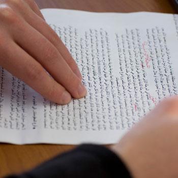La relecture d'un document