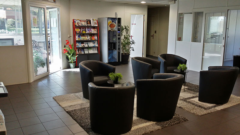 Reception of our translation agency in Bordeaux