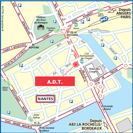 Accessibility of the A.D.T. translation agency in Nantes