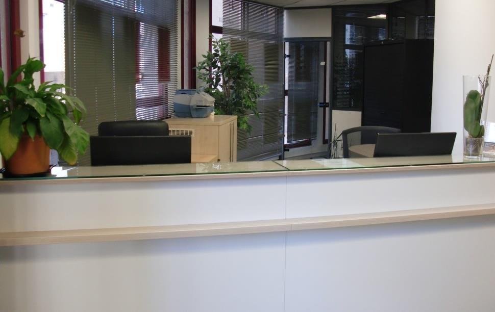 Le bureau d'accueil d'A.D.T. à Nice
