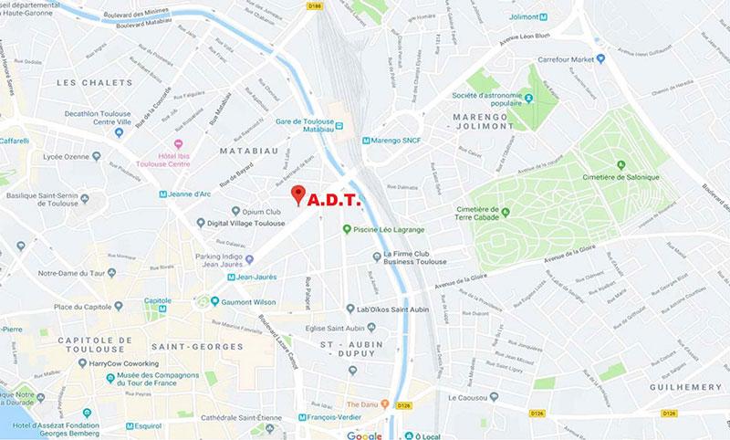 Plande l'agence de traduction à Toulouse