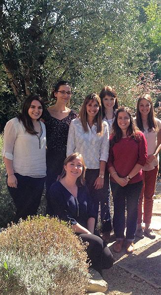 The team of A.D.T. translators