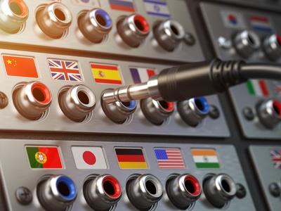 A.D.T. interprète dans de nombreuses langues